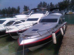 speedboat-dermaga-pulau-tidung